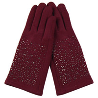 Wholesale Fashion star lady s touch screen gloves fashion Magic gloves winter driver gloves