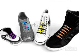 Wholesale Special Offer Hickies Silicon Shoelace For Sneaker colors Low Price Mix Color