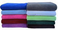 Wholesale XXXL x180cm Microfiber Bath Sheet Ultra Absorbent Beach Towel Spa Wrap Towel Quick dry Microfibre Products Manufacturer