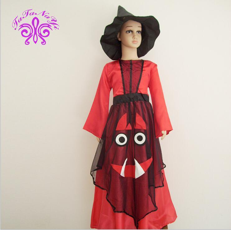 Cheap Childrens Halloween Costumes 2016 hot sale new arrival kids hunter costume children halloween cosplay costume cool holiday suit in stock now cheap price Girls Kids Halloween Costume Cosplay Cloak Witch Children Kids Children Kids Lovely Tulle Suit Child Witch Costume Set Stage Wear Hc12 Halloween Costume