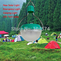 Cheap Free Shipping New Arrival 6LED+1Solar Panel Camping Light Outdoor Portable Tent Light Hand Control+Light Control Camping Lantern
