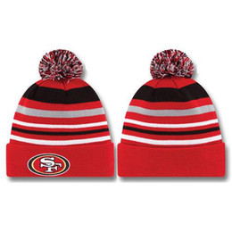 Wholesale Red ers Beanie Hats Knitted Caps of Football Team Casual Skull Caps for Mens Women New Design Sports Hats Cool Snow Hats Warm Winter Caps