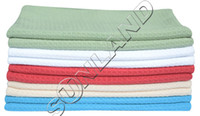 Wholesale 10 Pack quot x28 quot Microfiber Waffle Weave Kitchen Tea Towels Dish Drying Towels Washcloths Face Hand Towels Assorted Colors