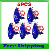 Wholesale Bulk Selling of X Blue Holes Ocarina Kiln fired Ceramic Alto C Legend of Zelda Zelda Ocarina Flute of Time