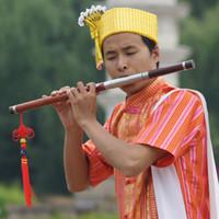 Wholesale Bau horizontal blowing G tune in F grade mahogany musical rhyme southern Yunnan Yunnan send tutorial textbook monopoly