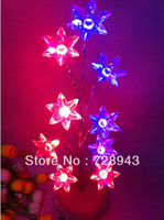 Cheap 2014 new arrival hot selling color Pentagon spent Nightlight tree bonsai tree lights flashing lights For Gifts Free shipping