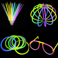 Cheap Disposable neon stick neon flash bracelet tape adapter diy neon glow sticks 520g