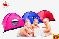Cheap 1-2 Children Baby playing tent indoor outdoor kids fun play house baby game house Kids gift waterproof free shipping
