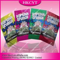 Wholesale Hottest Glitter Kaptain Crunch Potpourri Ziplock Bag For In Different Flavors