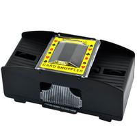 Wholesale New Decks Shuffling Playing Cards Card Poker Shuffler Automatic Machine TK0672