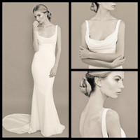 barcelona apple - Vintage Square Backless Sexy Long Mermaid Vestidos Cheap Barcelona Prom Dresses