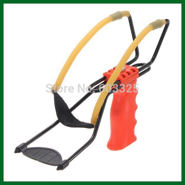 Wholesale-Children Gift High Velocity Powerful Pro Wrist Slingshot Sling Shot Toy Catapult 1pcs