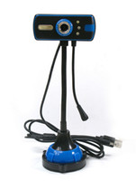 Cheap Youku HD camera with night vision driver free video 1200W lamp with a microphone computer accessories wholesale