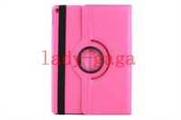 360 Rotating Magnetic Stand Leather Case Smart Cover For iPa...