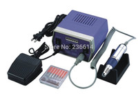 Wholesale Powerful use Fast Filing Complete Nail Tech Drill for Gels Acrylics with Foot Pedal