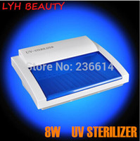 Cheap Free shipping professional uv nail beauty tools sterilizer disinfection cabinet