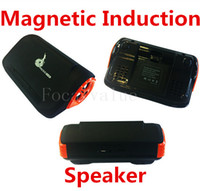 amplified sound card - K86 Magic Magnetic Boost Interaction Sensor Speaker Wireless Amplifying Induction Steore Sound Speakers Support TF Card