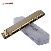Wholesale Rhyme Sea harmonica Child Adult Kong and Germany advanced technology playing harmonica tone polyphonic C shipping