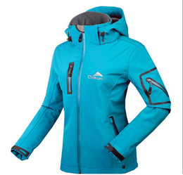 Wholesale Women Hiking Golf Mountain Research Hooded Waterproof Soft Shell Outdoor Jacket