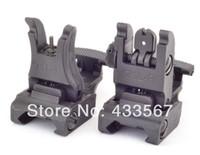 Wholesale A R M S L ARMS Polymer Front Rear Flip up Sight Black