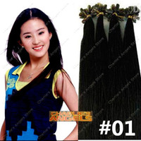 Wholesale 100strands set inch Human Hair Extensions Keratin Hair Extensions g g g g SET colors Optional CUSTOMIZE ACCEPTABLE