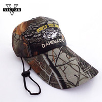 Wholesale VICTOR New Fishing Hats Caps Sun Hats Army Camouflage Visors Bucket Hats