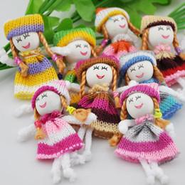 Wholesale Al por mayor x vestido DIY patrón artesanías niña pequeña muñeca artesanal apliques accesorio