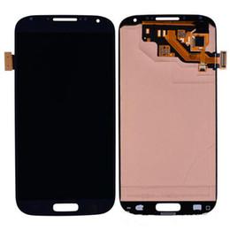 Promotion écran tactile pour samsung Pour Samsung i9500 S4 Ecran LCD Digitizer écran tactile pour Samsung Galaxy SIV i9500 / i9505 / i337 / i545 / L720 / M919 / R970 couleur bleu de remplacement