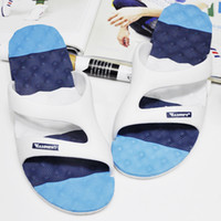 Cheap Wholesale-New 2014 Family Shoes Women Men Summer Home Slippers Bathroom Sandals Slip-resistant Lovers Indoor Slipper Shoes for Couples