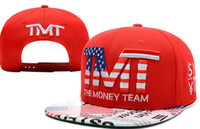 Wholesale 2014 mix order new arrival TMT Courtside Snapback Red Snapback hats snapback caps the money teams hats