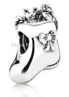 Cheap Wholesale 925 Sterling Silver Pandora Beads For European Charm Bracelets Snake Chain Jewelry