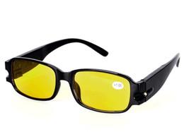 Wholesale LED Reading Glasses box cloth night radiation Spectacle Magnifier eyeglasses EMS freeshipping