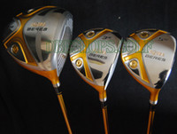 Wholesale 2013 New Golf Club Honma BeresS Golf woods set Wood Driver and Wood Stiff golf clubs EMS