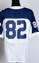 Wholesale cheap cowboys Jason Witten Bryant Romo White Blue Sawyer Hooded Sweatshirt football Stitched Jerseys