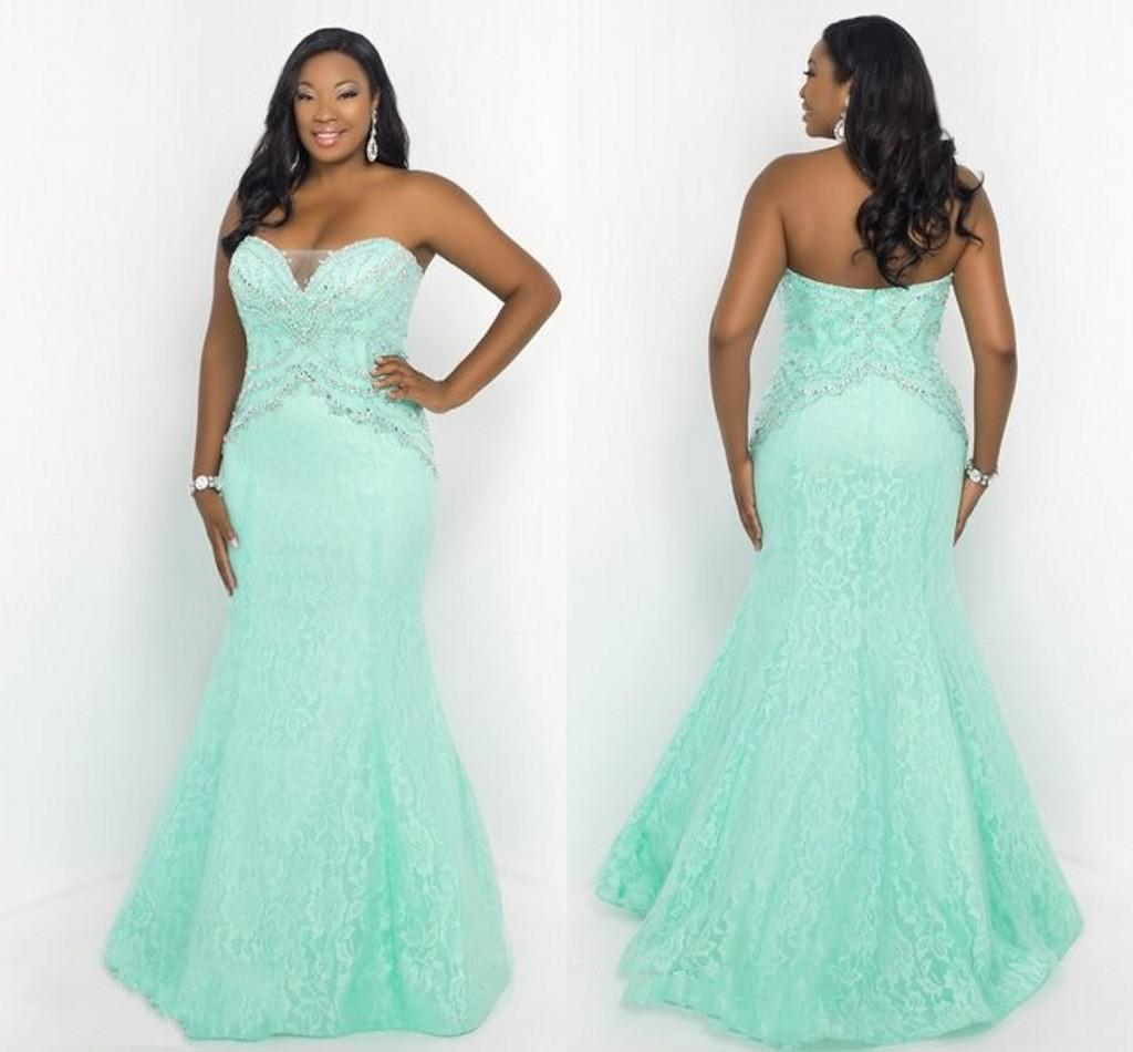 Plus Size Cheap Prom Dresses