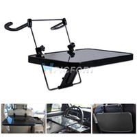 Wholesale New Auto Car Vehicle Part Travel Folding Holder Tray Table Desk Computer Laptop CA01663