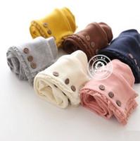 Wholesale Children winter autumn grils babys kids new lace princess cotton shorts leggings tights pants LY