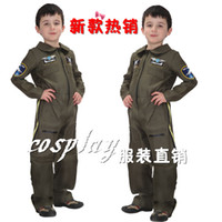 air force costume - Hot Sale Children s small air force pilot clothing Halloween Christmas party Cosplay Costume