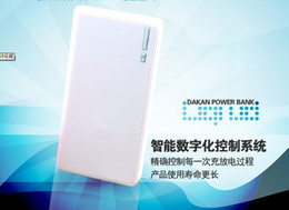 Wholesale Dual USB Wallet style LED Flashlig power bank mah With adapters connectors External Battery for phone iPad air