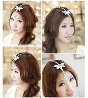 Wholesale Indian Princess Bohemian Vintage Forehead Wedding Bridal hair Accessories Hair Ornament