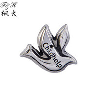 Wholesale Peaceful Childhelp Dove Floating Charms Fit Glass Lockets Charms Charms