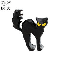 Charms floating charms Other New Black Cat Animal Floating Charms For Memory Glass Lockets charms wholesale New Charms
