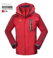 Wholesale New Arrival Men Outdoor Jacket in1 YKK zipper Sweatsuit Waterproof Men Overcoat