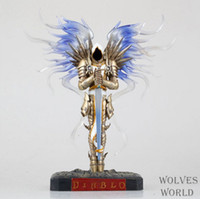 diablo - 5pcs Diablo III Archangel Tyrael PVC Action Figure Collection Model Toy cm
