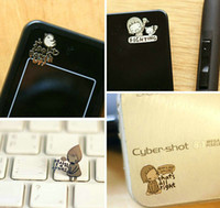 Wholesale Cell Phone Sticker Mobile Phone Patch Cellphone Stickers Anti radiation packaging bag