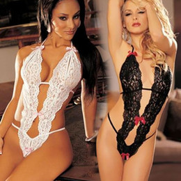 Wholesale Sexy Hot Lady Transparent Conjoined Lingerie Suit Halloween Costumes For Women Babydoll Fantasia Infantil Cosplay Chemises SV001528