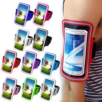 Cheap New Durable Waterproof Running Sports Workout Gym Armband Arm band Case Cover Bag for Samsung Galaxy Mega 6.3 I9200 DHL Freeshipping