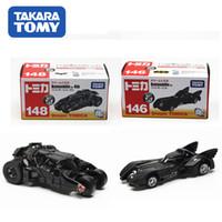 clásico Tomica juguetes Tomy caballero oscuro batman modelo de coche viejo / nuevo figura diecast batmobile juguete vehículo vaso de juguete del bebé