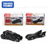Wholesale classic toys tomica tomy dark knight batman old new batmobile diecast figure tumbler vehicle toy car model for baby toy
