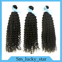 Cheap Honorable Hair!Brazilian Peruvian Malaysian Indian Virgin Human Hair Extensions Deep Wave 3Pcs 6A Natural Color Can Be Dyed And Bleached